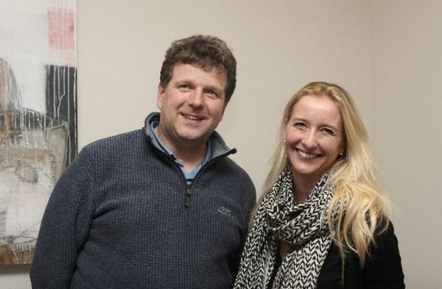 Vorstandsschaft des Vereins: Michael Herold und Ute Fischer