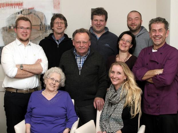 Von links nach rechts: Felix Veitenhansl, GerdSchmidt, Michael Herold,, Mark Bittmann, Erwin Mahler, Susanne Herold, Christopher Welzhofer, Brigitte Oßwald, Ute Fischer